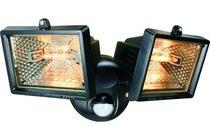 elro dubbele buitenlamp met bewegingsmelder