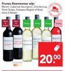 frunza roemeense wijnen