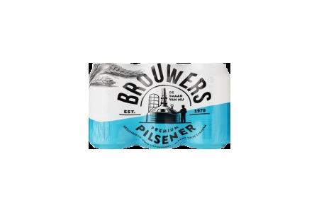 brouwers 6 pack blik
