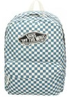 vans checkerboard moroccan blue
