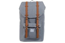 herschel little america grey tan pu