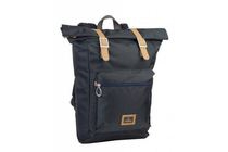 nomad rolled backpack polyester 18 i navy