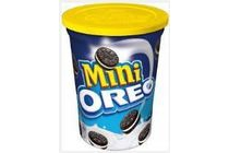 oreo mini s in beker