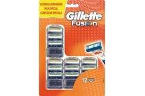 gillette fusion voordeelverpakking 12 stuks