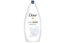 dove caring bath