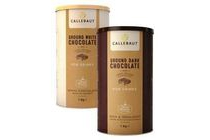 callebaut ground chocolate