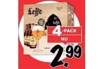 leffe belgisch bier 4 pack