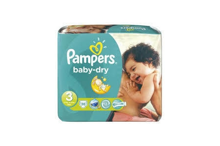 pampers luiers