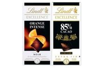lindt excellence chocolade tablet