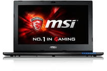 msi 15 6 gaming notebook
