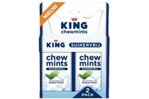 king chewmints suikervrij