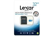 lexar high performance 300x microsdhc 32gb uhs i