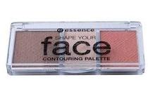 essence shape your face 10 ready set peach contouring palette