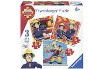 ravensburger brandweerman sam puzzelset 6 tot 24 stukjes