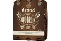 brand oud bruin bier fles 6 x 30 cl
