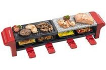 bestron raclette steengril arg400