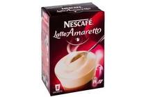 nescafe latte amaretto