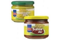 markant salsa of mexicaanse dip