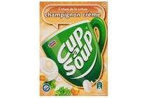 cup a soup champignon creme