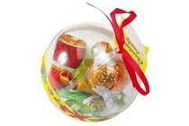 look o look plastic kerstbal met snoep