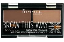 rimmel brow kit