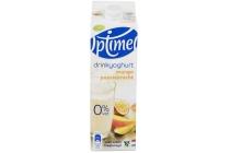 optimel drinkyoghurt mango passievrucht