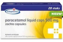 trekpleister paracetamol liquid caps 500 mg