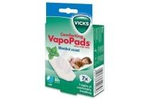 vicks comforing vapopads menthol