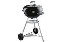 weber houtskoolbarbecue compact kettle