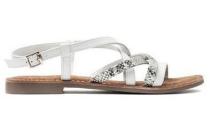 lazamani sandaal wit