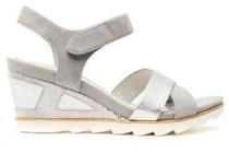tamaris sandaal zilver