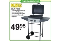 kos soutfhield gasbarbecue