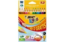 bic kids kleurpotloden triangle