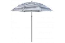 parasol zwart wit blokker