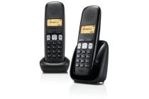 gigaset duo dect telefoon met antwoordapparaat a250a
