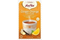 yogitea ginger orange with vanilla