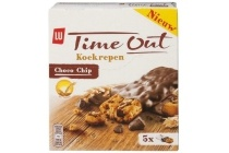 lu time out choco chip koekrepen