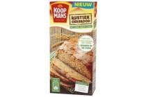koopmans mix voor rustiek brood oerbrood