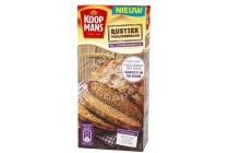 koopmans mix voor rustiek brood volkorenbrood