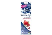 optimel drinkyoghurt griekse stijl granaatappel