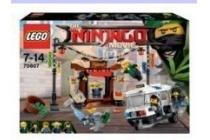 lego achtervolging door de stad