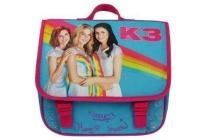 k3 regenboog kleuterschooltas 28 cm