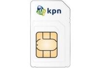 kpn sim kaart kpn prepaid 1gb