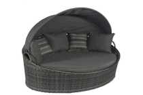 wicker lounge eiland danish