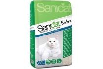 sanicat kattenbakvulling extra of ultra 32l