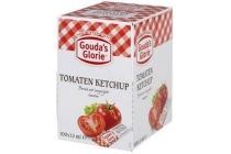 gouda s glorie tomatenketchup portieverpakking