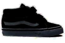 vans klittenbandschoen zwart