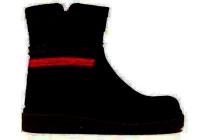 shoesme korte laars marine