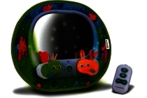 munchkin baby in sight magical firefly auto mirror