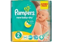 pampers jumbo pack new baby dry